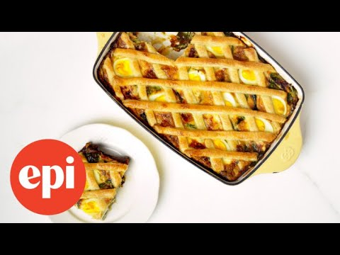 Bacon and Egg Casserole | Epicurious