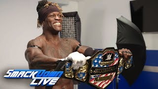 R-Truth poses for his first photoshoot as United States Champion: SmackDown Exclusive, Jan. 29, 2019