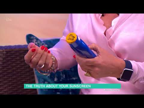 The Truth About Your Sunscreen | This Morning