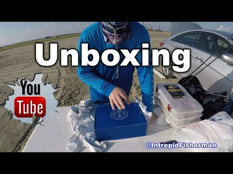 Texas City Dike - Unboxing and Review of Coastal fishing Salt Box