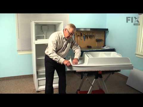 Whirlpool Refrigerator Repair– How to replace the Fresh Food Door Gasket