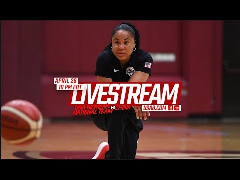 EXHIBITION GAME // USA Basketball 2018 Women's National Team vs China LIVE