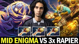 SUMAIL MID ENIGMA vs Triple DIVINE RAPIER Gyrocopter WTF Game Dota 2