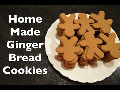 Homemade Gingerbread Cookies Recipe