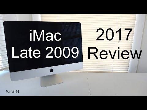 Apple iMac Late 2009 Intel Core 2 Duo (2017 Review)