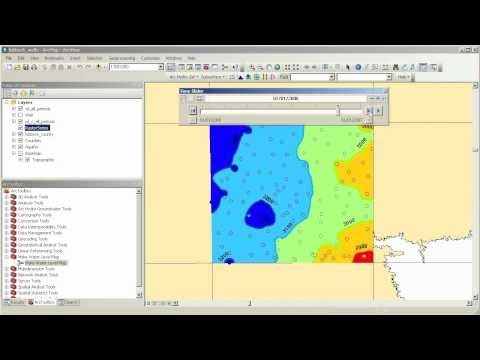 AHGW: Creating Water Level Maps