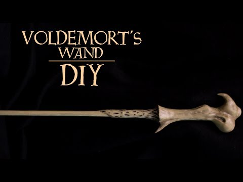 Lord Voldemort's Wand | Harry Potter DIY
