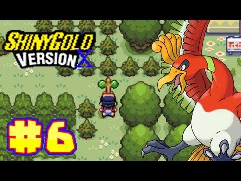 Let's Play Pokemon Shiny Gold Version X Part 6 - National Garden