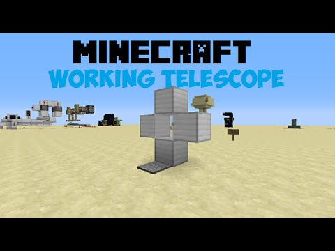 Minecraft Working Telescope [1.8 ONLY]