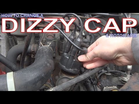 VW Golf mk2. How to Change a Distributor Cap & Rotor Arm