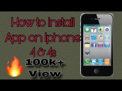 How to install any app on iphone 4, 4s its required to ios 7.1.2 by Technical