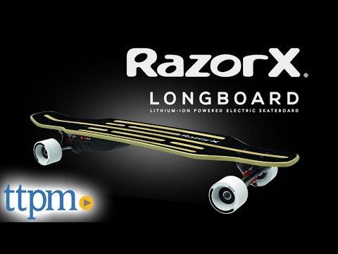 RazorX Longboard Electric Skateboard from Razor