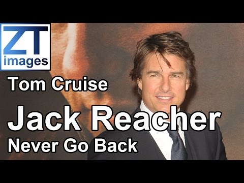 Tom Cruise at the film premiere of Jack Reacher: Never Go Back in London, UK.