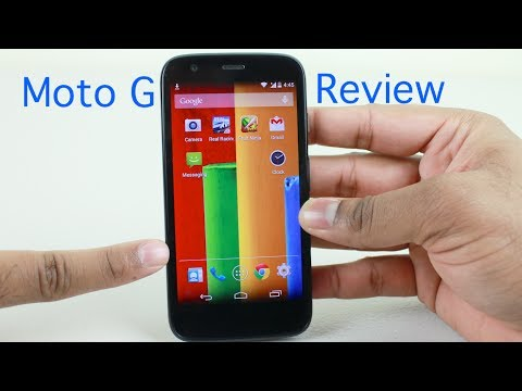 Moto G Review | with Android KitKat Update