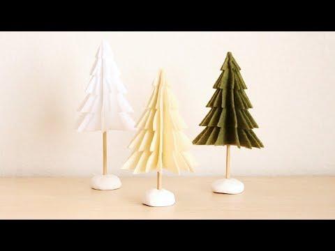 Day 7 | DIY Felt Christmas Trees