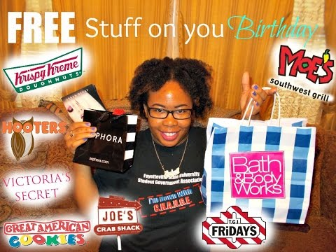 How To Get Free Stuff on Your Birthday!!