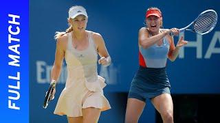 Maria Sharapova vs Caroline Wozniacki Full Match   US Open 2014 Round Four