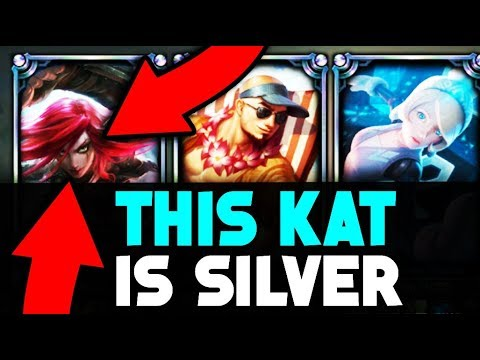 Do They Deserve it? Placing a SILVER Katarina Main in a Diamond Solo Q Game - League of Legends