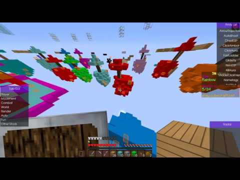Cubecraft Hack :Skywars Fly,Aimbot,killaura with no kick