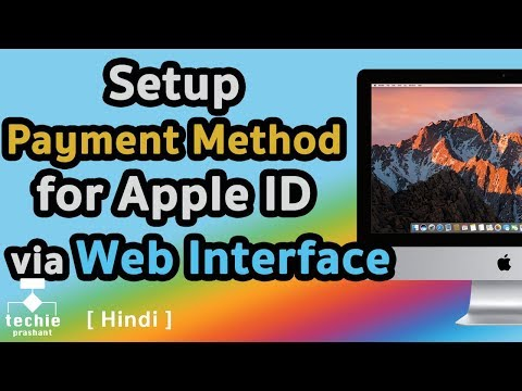 How to Setup Payment Method for Apple ID via Web Interface. HINDI