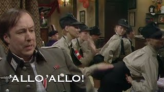 The Dance of The Hitler Youth | Allo' Allo'! | BBC Comedy Greats