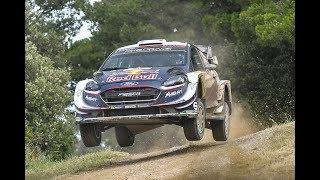 WRC Rally Italia Sardegna 2018 - Day 1 - Crazy Jump & Action [HD]