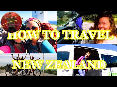 HOW TO TRAVEL NEW ZEALAND? BIKE, BUS, CAR OR WALK? - Ep 81