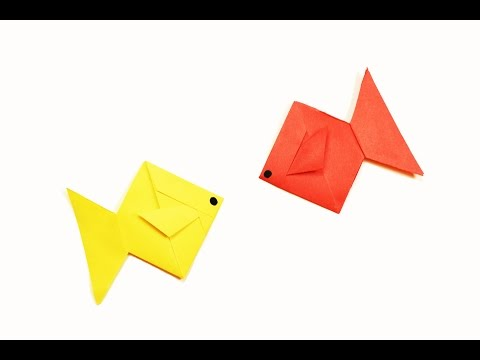 How to make a paper Fish?