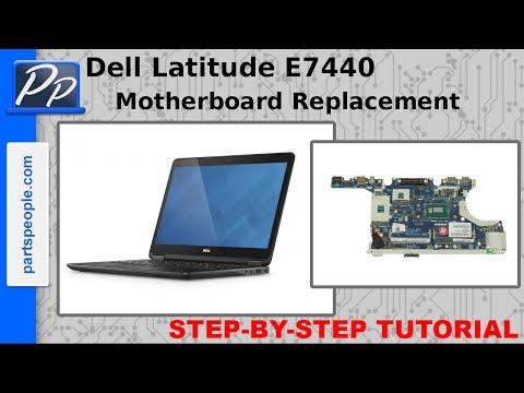 Dell Latitude E7440 Motherboard Video Tutorial Teardown