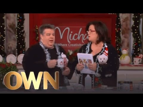 How to Make a Winter Wonderland Mug | The Rosie Show | Oprah Winfrey Network