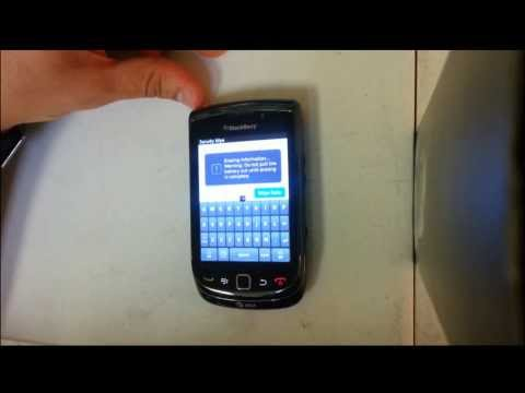 How to Reset Blackberry Torch 9800 9810 - Factory Hard Reset