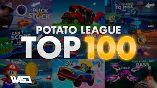 POTATO LEAGUE #100 | TOP 100 FUNNIEST ROCKET LEAGUE CLIPS OF ALL TIME