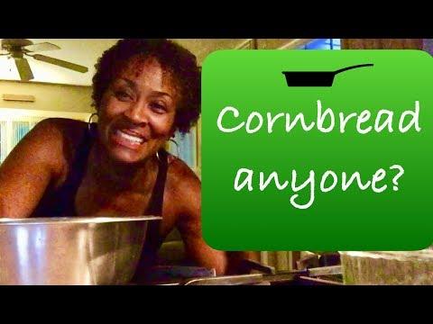 Cornbread! No eggs! No milk!
