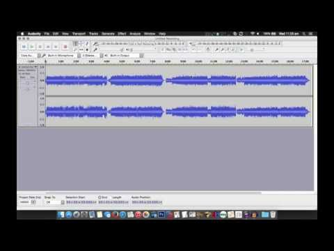 Easily split large audio files into tracks with Audacity