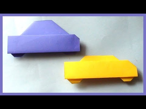 Easy Paper Car Origami | How to Make Simple Paper Car