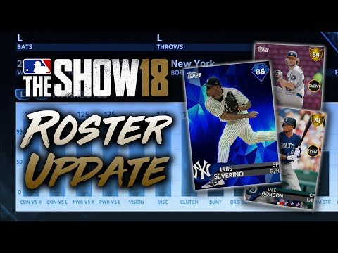 Severino to Diamond! May 11th Roster Update! MLB The Show 18 Diamond Dynasty