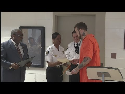 Inmates learn while locked up, earn GED