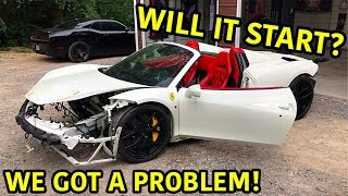 Rebuilding A Wrecked Ferrari 458 Spider Part 3