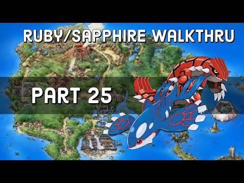Pokemon Ruby/Sapphire Walkthru Part 24 - How to move Wailmer in Lilycove