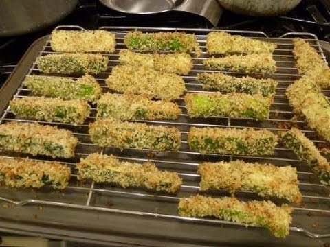 Baked Zucchini Fries - Crispy Healthy Baked Zucchini Fries - HealthConsciousMeals