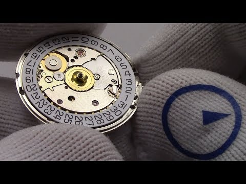 ETA 2824-2 Movement - How The Date On ETA Watch Movement Adjusts Accurately? Watch and Learn #38