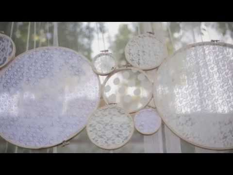 DIY Embroidery Doilies