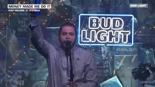Post Malone - Money Made Me Do It (Live From The Bud Light x Post Malone  Dive Bar Tour Nashville) - getplaypk