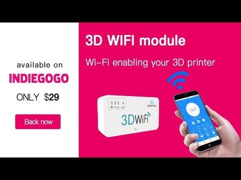 3D WiFi module: Wi-Fi enabling your 3D printer