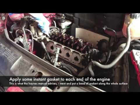 Removing the Valve Cover on a Renault Clio