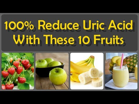 Reduce Uric Acid And Gout With These Home Remedies And Natural Fruits And Vegetables For Uric Acid