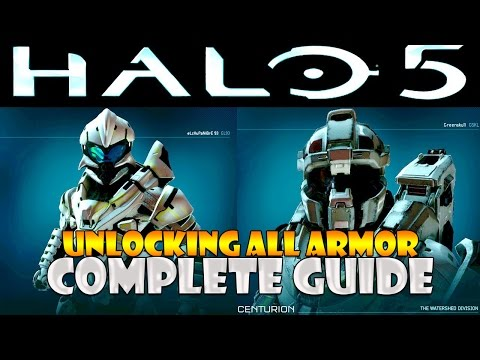 Halo 5: Guardians - How To Get ALL ARMOR GUIDE
