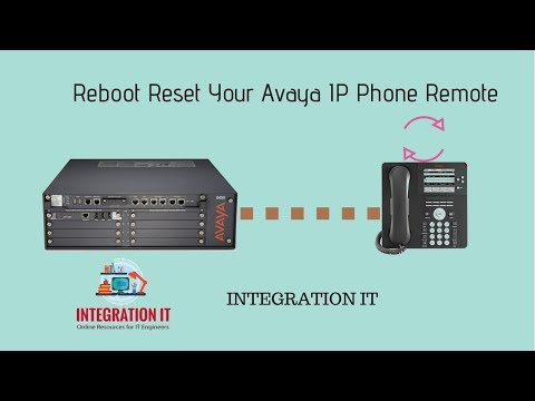 How to Reset Reboot Your Avaya IP Phone Remotely