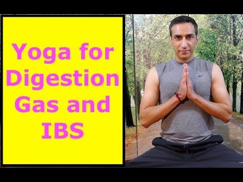 Simple Yoga for Digestion, Gas and IBS
