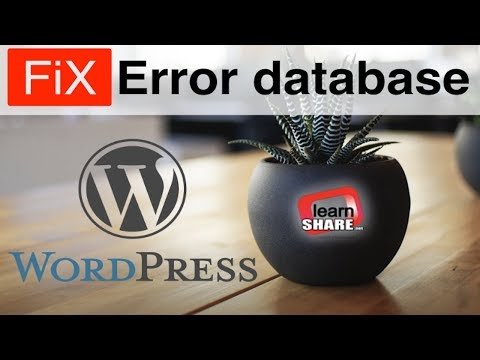 Fix Error Establishing Database Connection Wordpress